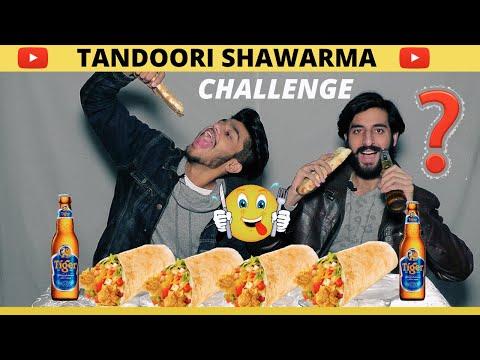10X 8 Turkish Tandoori Shawarma Eating Challenge 😱 @Boss of Challenges Vs @Sam Rajput tiktoker