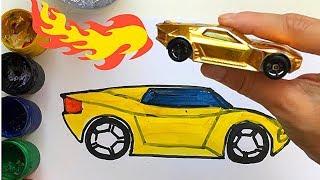 🎨 СУРЕТ САЛУ!МАШИНА!SURET SALU! УЧИМСЯ РИСОВАТЬ Ламбарджини#1/HOW TO DRAW CAR!Рисуем машину!