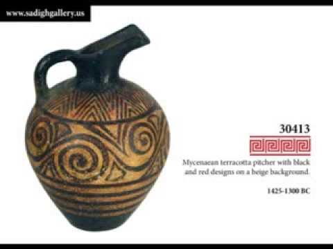 Sadigh Gallery Ancient Greek Pottery Collection