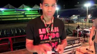 Setup do guitarrista do Fernandinho 2014