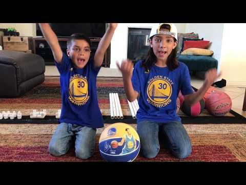 How To Make A Basketball Stand   Warriors vs Cavaliers   NBA Playoffs 2017   Ishantube