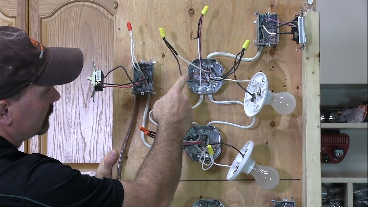 how to wire a 3 way light [ 1280 x 720 Pixel ]