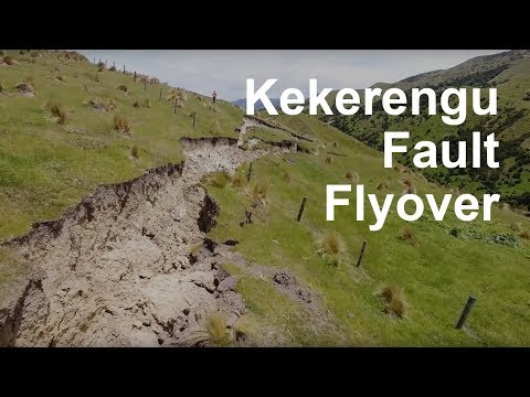 Drone video of the Kekerengu Fault rupture