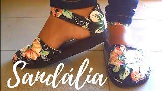 DIY – Como fazer sandálias de chinelos de borracha