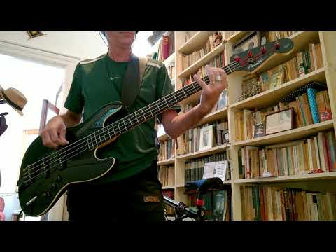 Old Habits Die Hard - Mick Jagger & Dave Stewart [Bass Cover]