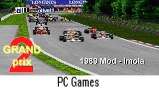 Grand Prix 2 (1989 Mod - Imola Track | Nelson Piquet - Lotus Judd) PC Game