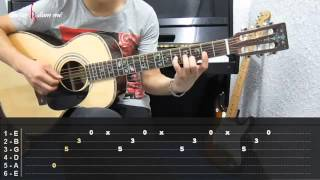 Dạy Học Guitar] [Đệm Hát] [Điệu Pop R&B]   Thu cuối (Bản phối khí chuẩn)