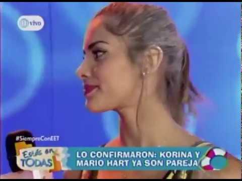 Mario Hart y Korina fueron ampayados besándose dicen que son pareja - Farandula / Radiotarapoto.com