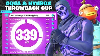 Easiest 2nd Place Finish in Aqua and Nyhrox Throwback Cup!! w/BenjyFishy