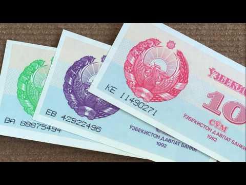 #распаковка и #обзор посылки с банкнотами №62 #Узбекистан #Молдавия #Армения