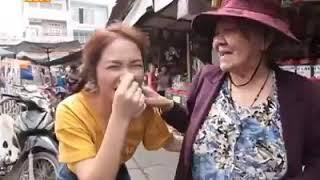 Hòa Minzy và Chí Thiệu đi chợ bá đạo,siêu đáng yêu
