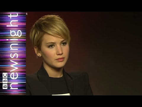 Jennifer Lawrence Talks Body Image - BBC Newsnight