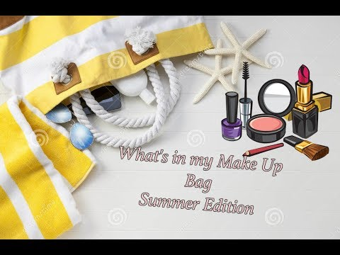 What's in my Make Up Bag (Summer Edition ) Feat Mina