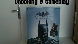 (Unboxing & Gameplay) Batman: Arkham Origins Edition Collector sur PS3