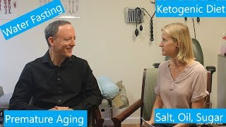 Water only fasting and the optimal diet? Interview with Dr. Alan Goldhamer