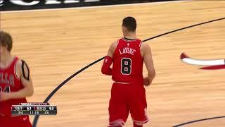 The Bulls Hit 17 3-Pointers vs. Pistons