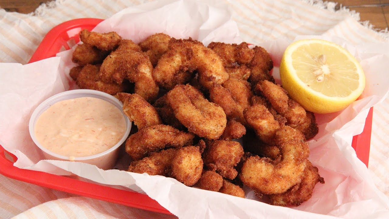 Popcorn Shrimp Recipe Laura In The Kitchen Internet Cooking Show
