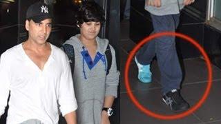 For god's sake Akshay change your shoes