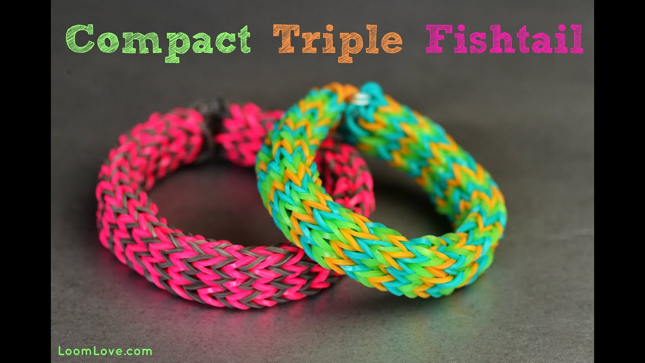 Make A Compact Triple Fishtail On The Monster Tail Rainbow