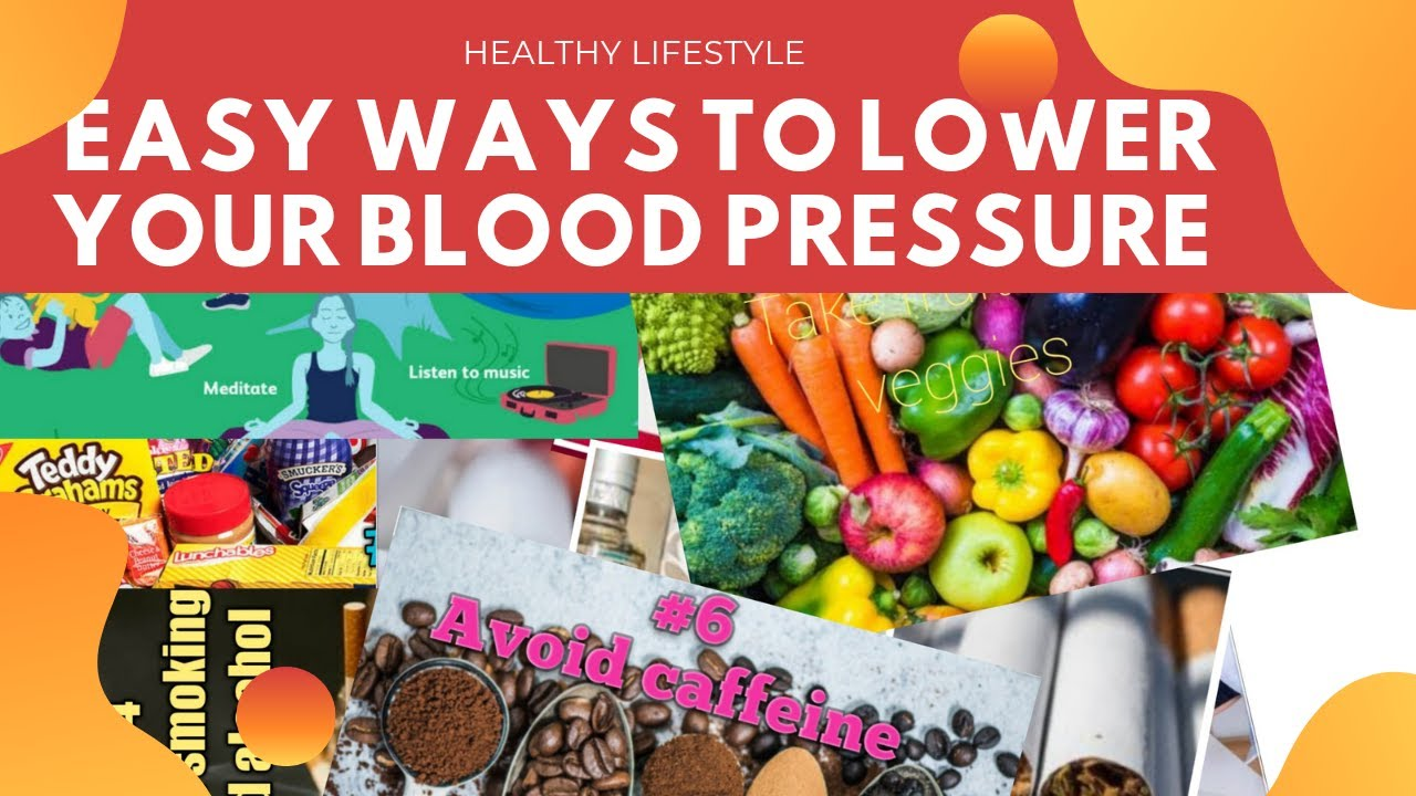 10 Easy And Natural Ways To Lower Your Blood Pressure Fast Youtube