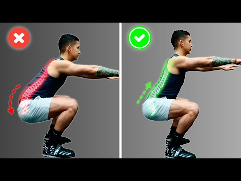 How To Squat Properly: 3 Mistakes Harming Your Lower Back (FIX THESE!)