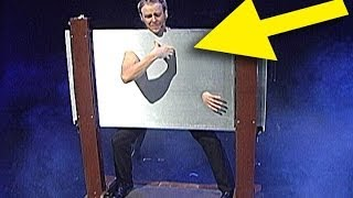 Illusionist Ryan Joyce walks thru steel -- Stage Illusion