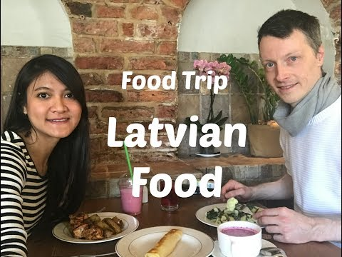 How does Latvian Food & Beverage taste? | German and Indonesian Food Challenge