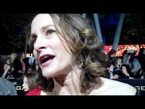 "Nina Jacobson at ""The Hunger Games"" world premiere"