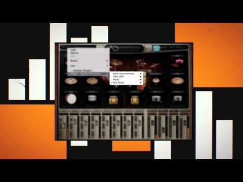 Session Percussion ADpak & Percussion Beats MIDI Pak - Preset Preview