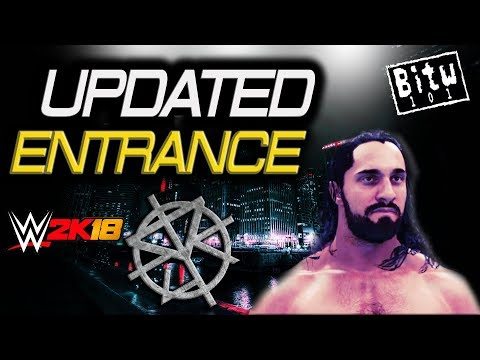 WWE 2K18 : Seth Rollins Updated Entrance *Burn It Down Titantron Formula* (PS4)