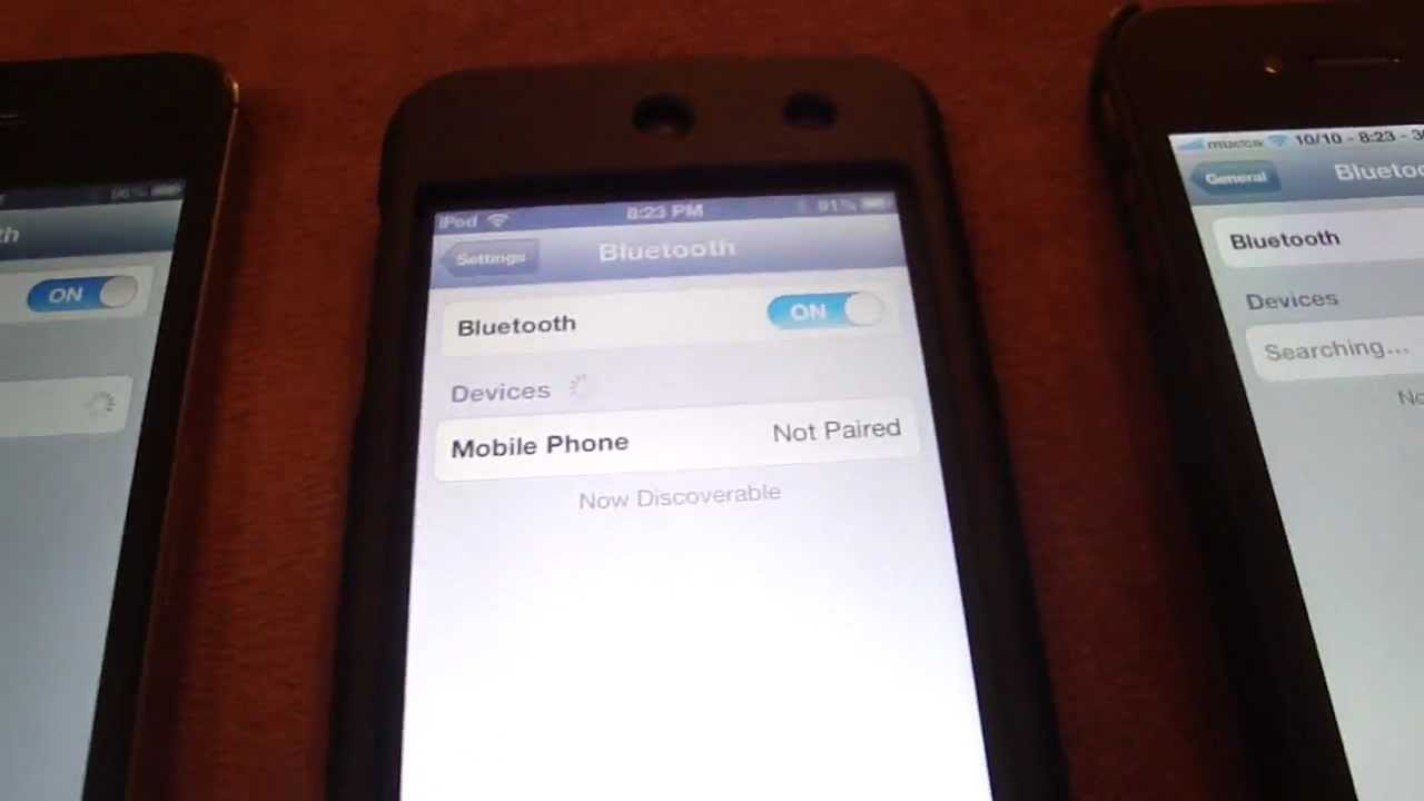 Bluetooth does NOT work on iDevices