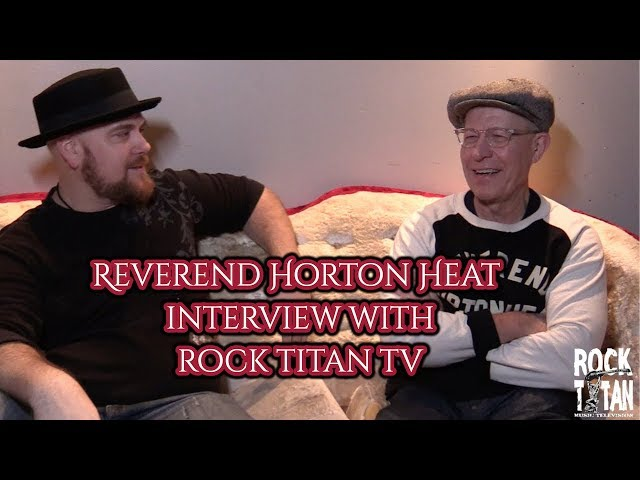Reverend Horton Heat shares thoughts on Baby it's cold outside!