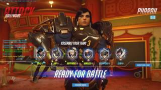 Overwatch competitive group play! Some good play, some not so good ;-)