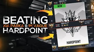 Destroying Parka, Xia, & imVague in Hardpoint Legendary Ranked COD Mobile