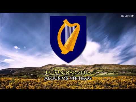 Himno nacional de Irlanda (IRL/ES letra) - Anthem of Ireland (Spanish)