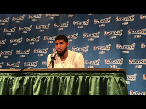 Paul George after Game 3 loss to Cavs