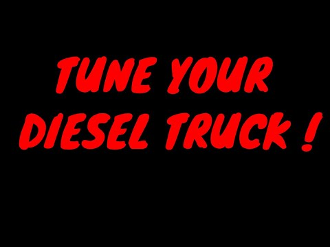 HOW TO TUNE YOUR DIESEL TRUCK (DIY ECODIESEL TUNE)