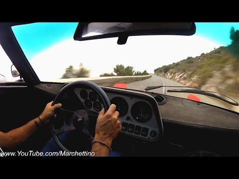 Lancia Stratos HF Onboard & Great Engine Sound!