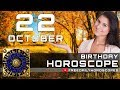 October 22 - Birthday Horoscope Personality