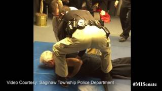 Sen. Horn Hometown Tours: Saginaw Township Police Department
