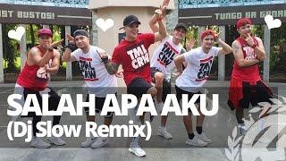 SALAH APA AKU Dj Slow Remix 2019 (Versi Gagak) | Dance Fitness | TML Crew Kramer Pastrana