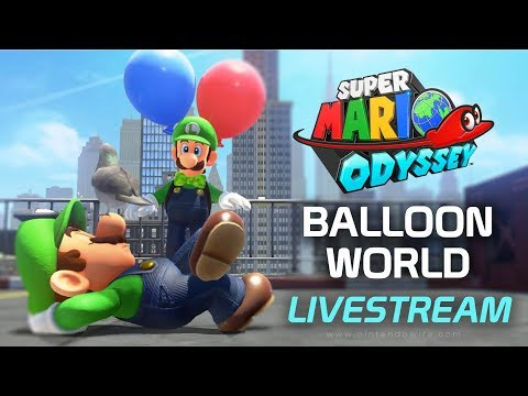 Luigi's Balloon World Livestream (Super Mario Odyssey)