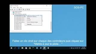 Résoudre Les Problèmes de Ports USB et Périphériques USB (Souris, Clavier...)