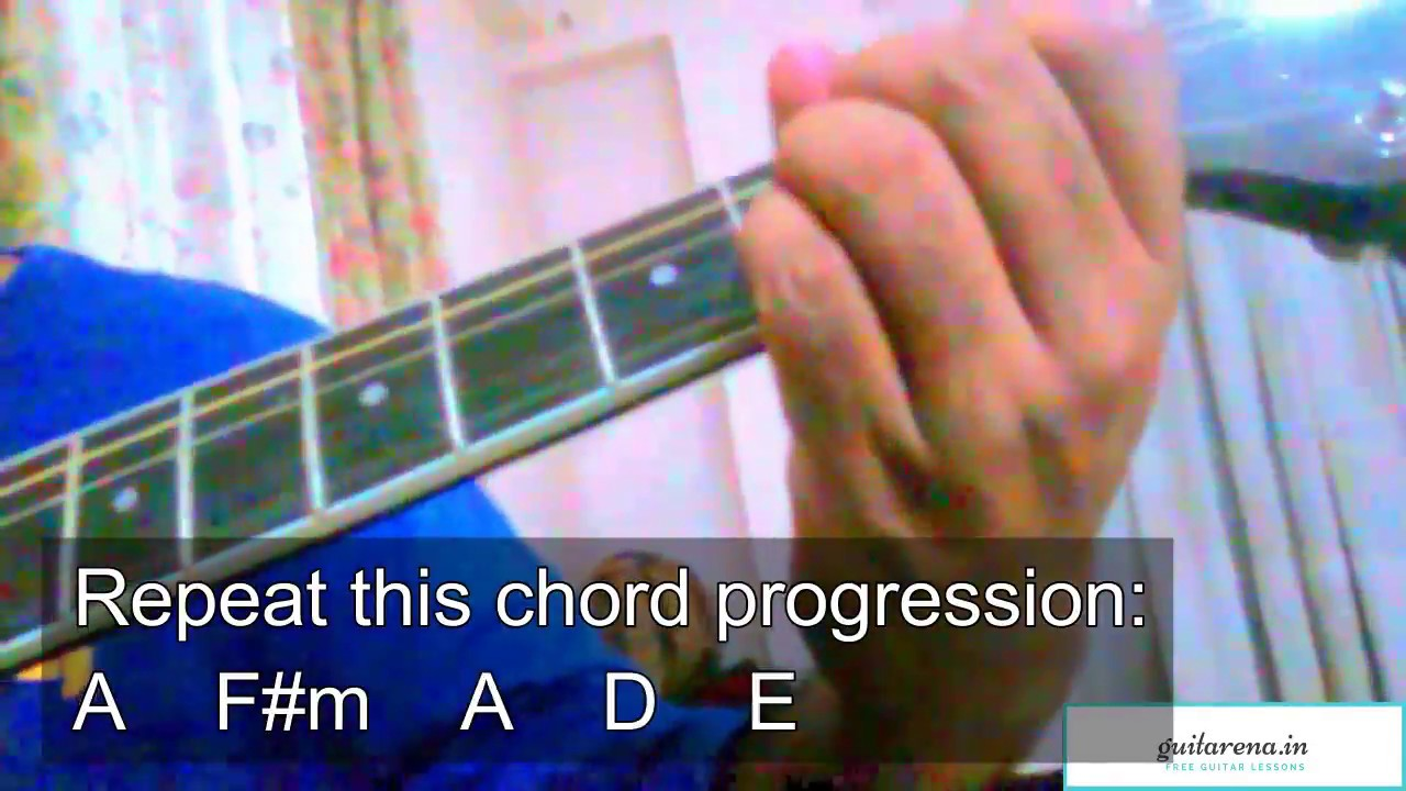 Agar Tu Hota Toh Baaghi Guitar Chords Guitar Lesson Youtube