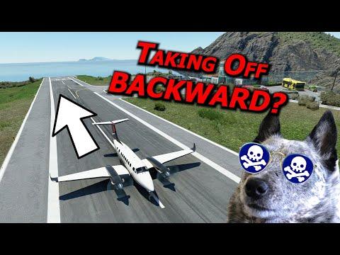 Taking Off BACKWARD? The ULTIMATE Challenge! (Real Pilot Plays Microsoft Flight Simulator) |