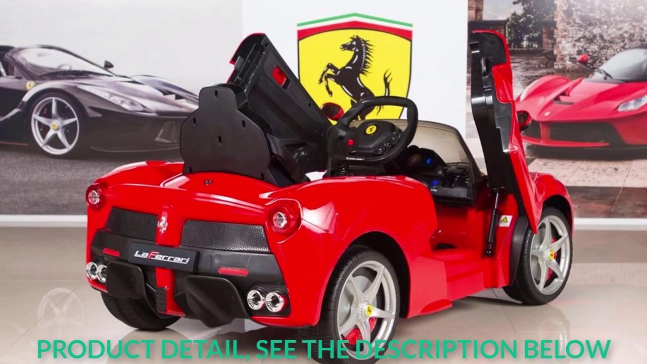 Charmant BigToysDirect 12V Ferrari LaFerrari Kids Electric Ride On Car Red