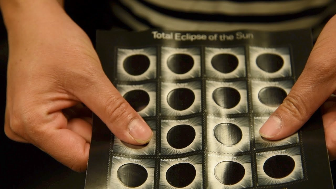 Solar eclipse memorialized with heat-activated stamp, ink made in Colorado  Springs