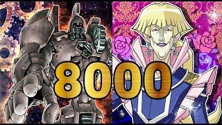 遊戯王デュエルリンクス クロノスLv30 40 8000 □こっちの方が安定します...