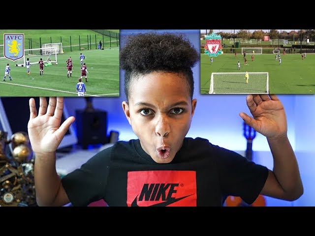REACTING TO MY ACADEMY MATCHES! (Liverpool, Villa & More)