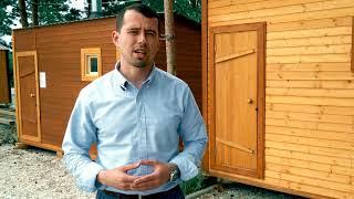 Видеообзор каркасной бани на выставке домов ТРК Колхозный двор